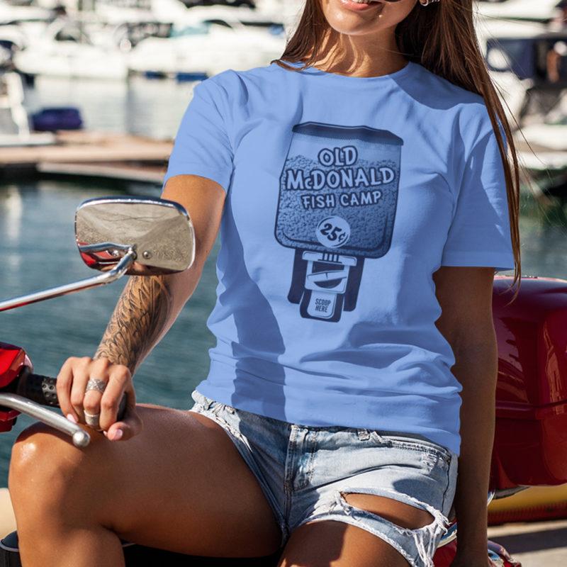Old McDonald Fish Camp Shirt