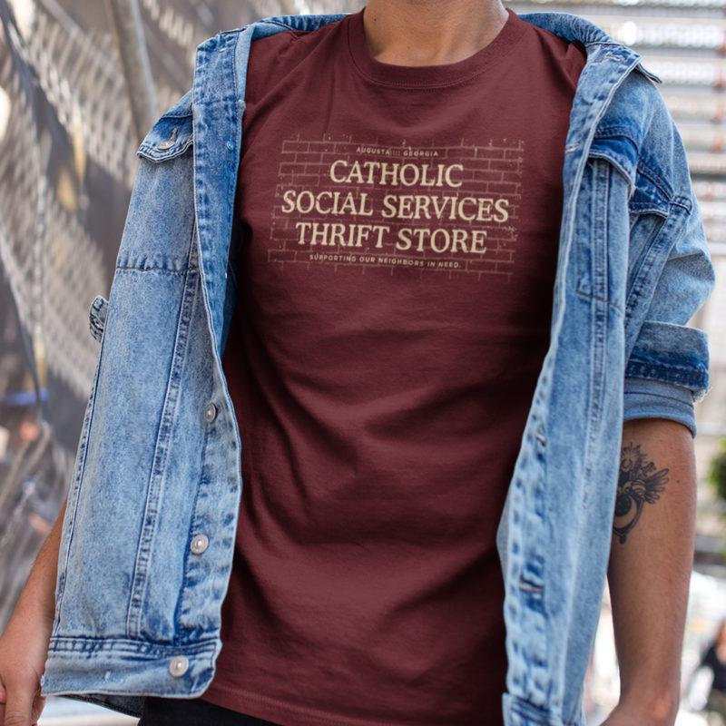 Catholic Social Services Thrift Store Shirt