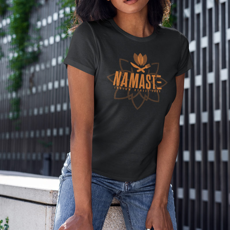 Namaste Indian Street Food Shirt